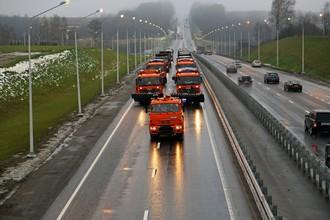 Протяженность новой развязки составляет более 5 километров. Дорога имеет 4 полосы — по две в каждую сторону, как и на всем протяжении трассы М-1 «Беларусь». При этом дороге присвоена высшая — I категория