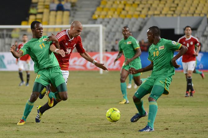 Сборная Зимбабве не может занести себе в актив матч против египетской команды