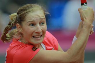 Екатерина Макарова сравняла счет в полуфинале Кубка Федерации
