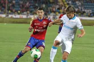 В матче «Зенит» — ЦСКА Алан Дзагоев своей команде не поможет, а вот у Андрея Аршавина есть все шансы