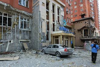 Жилой дом в центре Донецка