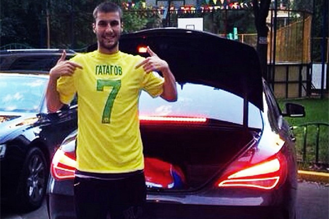 <b>Сослан Гатагов, 22 года</b>, бывший защитник «Спартака», за два года лишь пять раз выходил на замену, &mdash; Mercedes CLA.