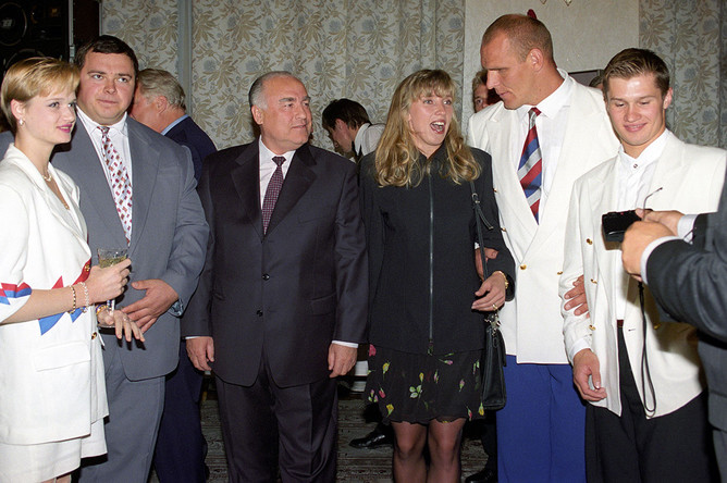 Правительственный прием в честь победителей Олимпийских игр в Атланте, 1996 год