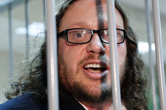 Бизнесмен Сергей Полонский во время вынесения приговора на заседании Пресненского суда, 12 июля 2017 года