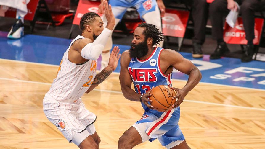 Харден установил рекорд НБА в дебютном матче за Бруклин Нетс