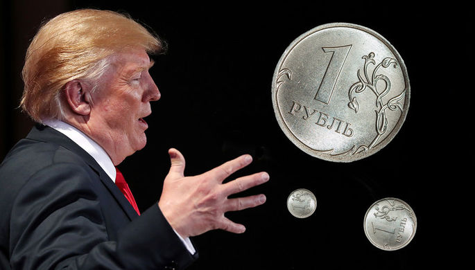 Атака на рубль: от Трампа требуют новых санкций