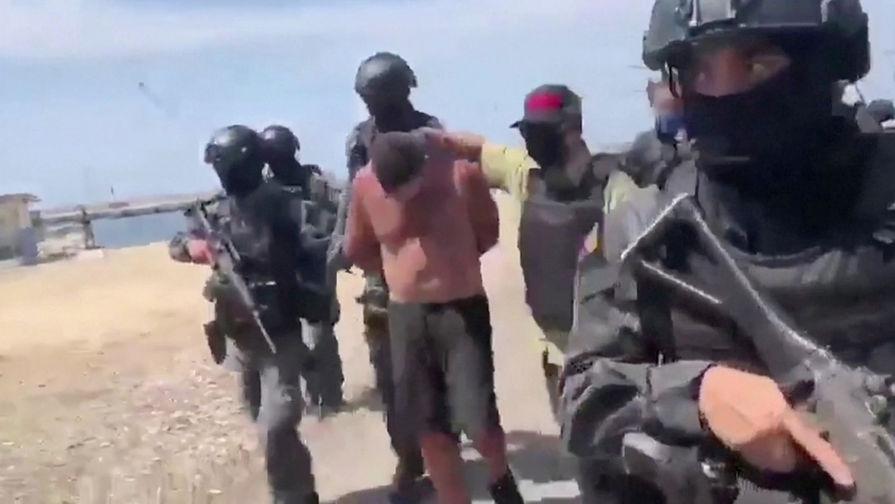 В Венесуэле арестовали двух американцев, обвиняемых в попытке морского вторжения