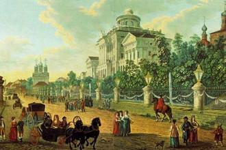 Дом Пашкова, XVIII век