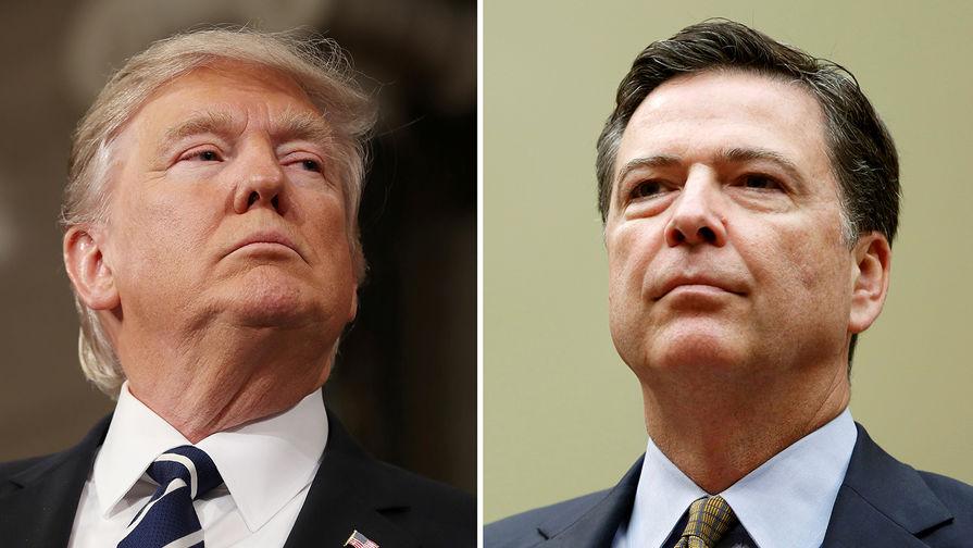 Трамп обвинил Коми в разглашении конфиденциальной информации