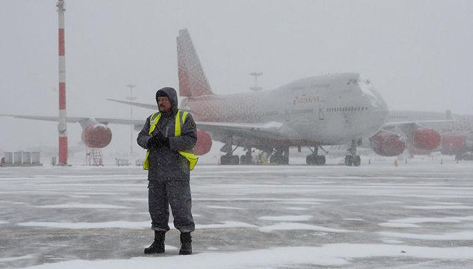 В Москве задержаны и отменены 45 авиарейсов