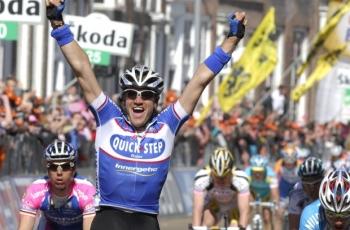 В 2010 году Вейландт выиграл третий этап «Джиро»...