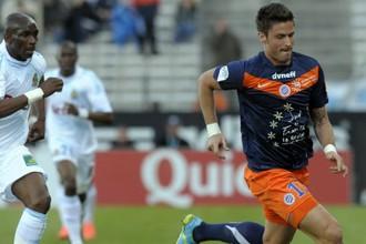 Оливье Жиру забил 19-й гол в чемпионате Франции