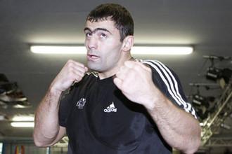 Рахим Чахкиев после очередной тренировки