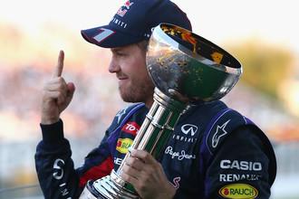 Себастьян Феттель выиграл Гран-при Японии-2013