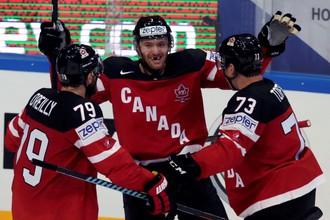 Сборная Канады одержала третью победу на чемпионате мира по хоккею