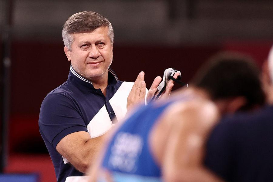 Тренер сборной России повольной борьбе Дзамболат Тедеев