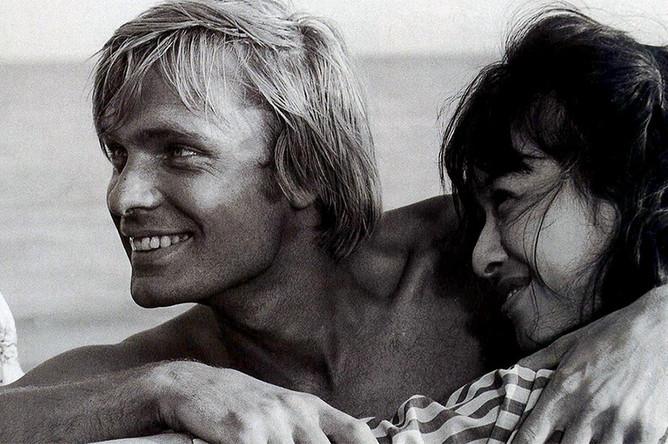 Кадр из фильма «Москва, любовь моя», 1974 год
