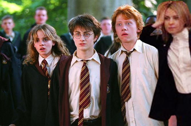 Наталья Поклонская в сцене из фильма «Гарри Поттер и Тайная комната» (2002)