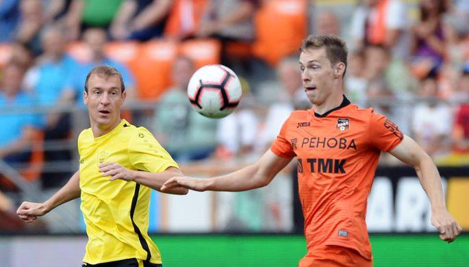 Денис Глушаков и Артем Дзюба