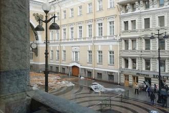 Последствия обрушения строительных лесов около здания Главного штаба в Санкт-Петербурге, 21 августа 2018 года