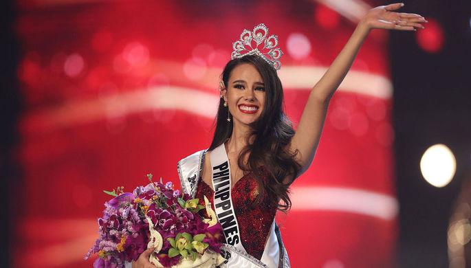 «Мисс Вселенная-2018» Катриона Грэй (Филиппины)