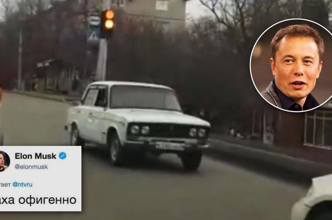 «Перевернутая «Жигули» на улицах Ставрополя