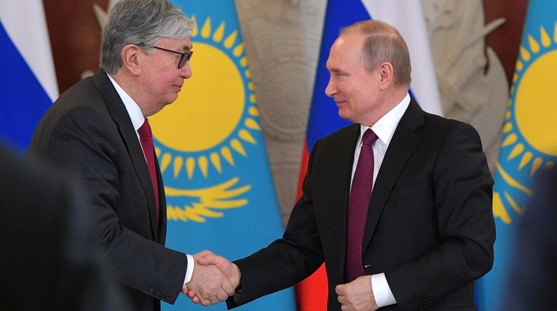 Путин и Токаев договорились встретиться в Нур-Султане