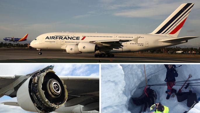 Авария над Гренландией: сколько убытков принес А380