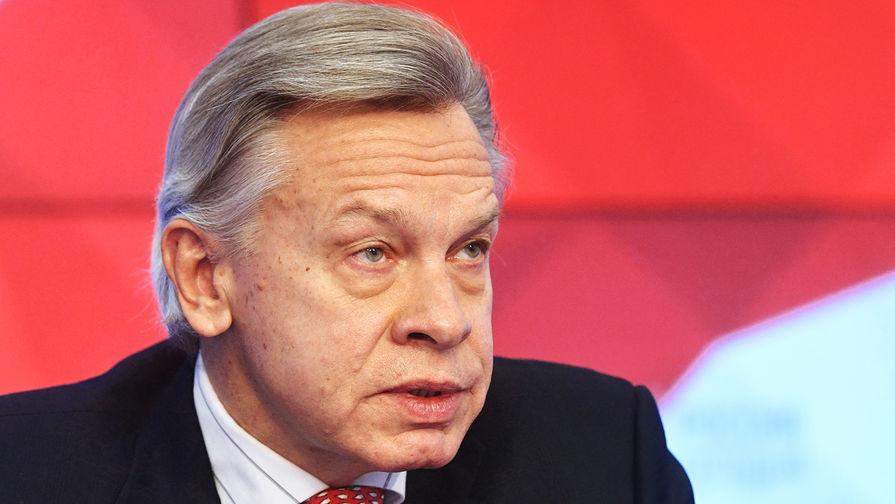 Пушков назвал показательной идею ЕС создать силы быстрого реагирования