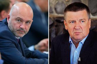 Константин Ильковский и Александр Худилайнен