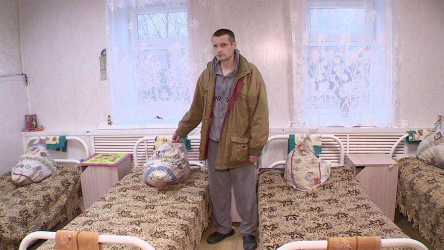 Сергей Фатенков в Борском интернате