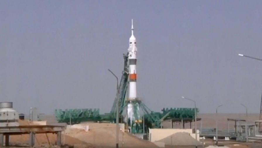 Космический корабль Ю. А. Гагарин стартовал с Байконура
