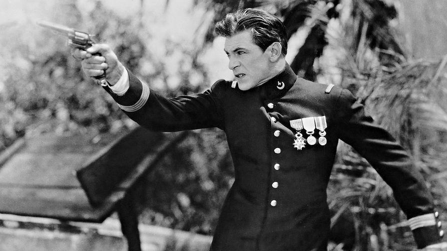 Кадр из фильма «Красавец-рубака» (1928)