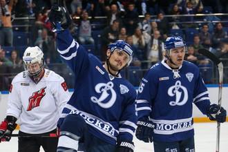 Московское «Динамо» разгромило «Кузню» в регулярном чемпионате КХЛ