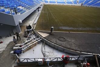 «Зенит-Арена» испытывает проблемы с газоном
