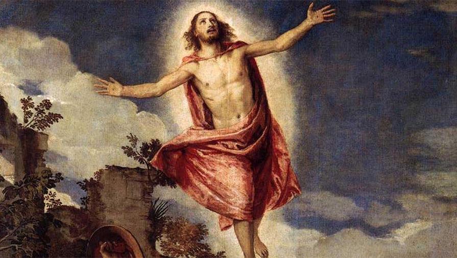 Фрагмент картины «Воскресение Христа» Паоло Веронезе, 1570-е годы