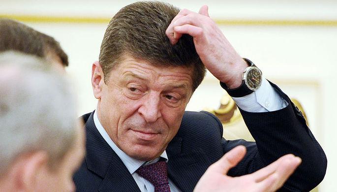 Вице-премьер по промышленности Дмитрий Козак