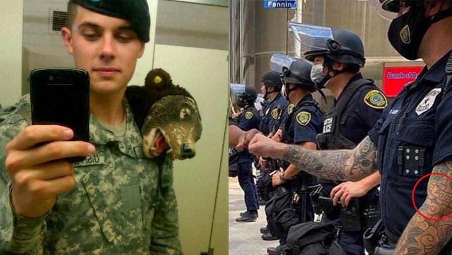 Русский след: кем оказался полицейский США с татуировкой «Россия»