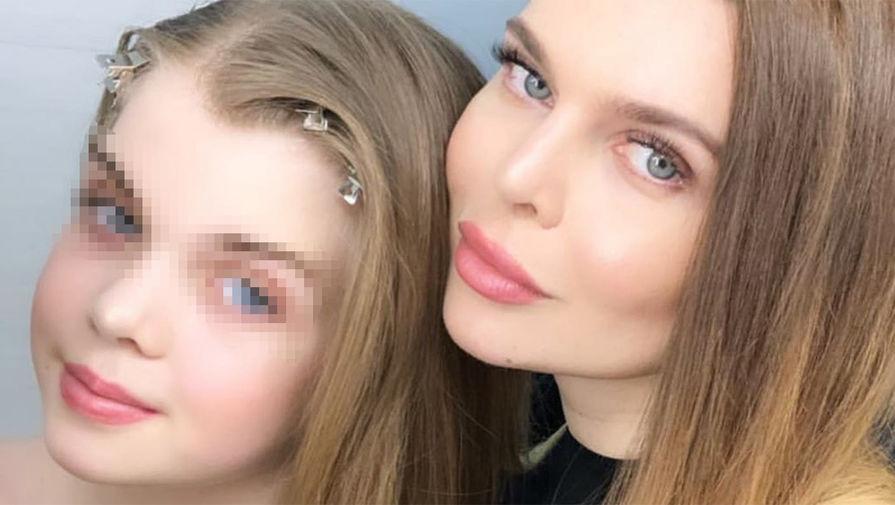 Диана Славина с мамой