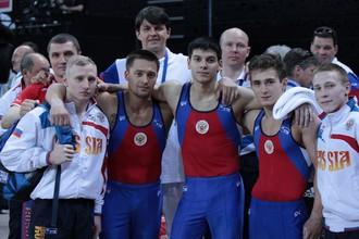 Сборная России выиграла ЧЕ-2012