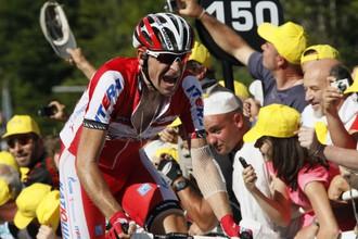 Денис Меньшов вышел на четвертое место в общем зачете «Тур де Франс»