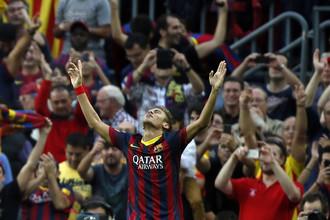 Неймар стал автором гола и передачи в победном для «Барселоны» матче с «Реалом»
