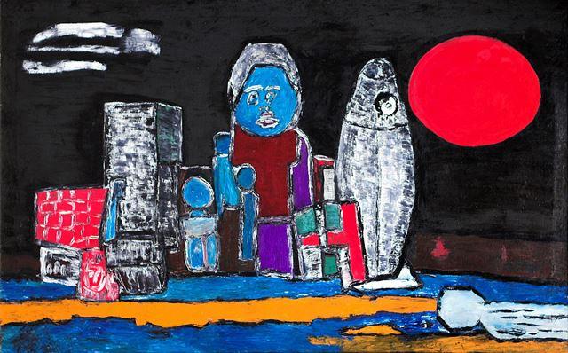 Боб Кошелохов. «Другая планета». 2007. Холст, масло