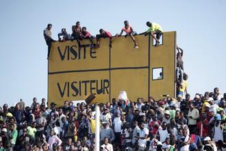 Лихорадка Эбола угрожает футболу в Западной Африке
