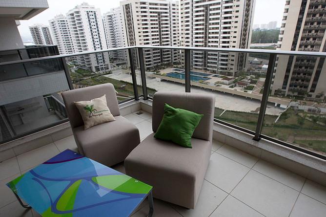 Все апартаменты располагают балконами