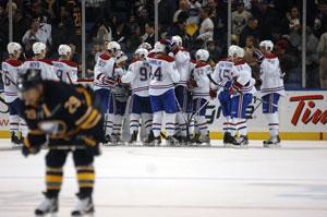Радость хоккеистов «Монреаля»