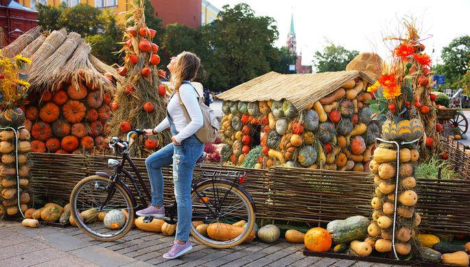 Шапки долой: в Москву идет бабье лето