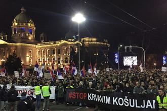 От Франции до Сербии: «желтые жилеты» атаковали Вучича