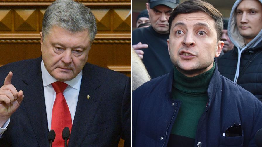 В штабе Зеленского упрекнули Порошенко в черном пиаре