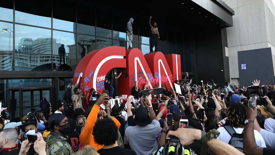 Нападение на штаб-квартиру CNN в Атланте